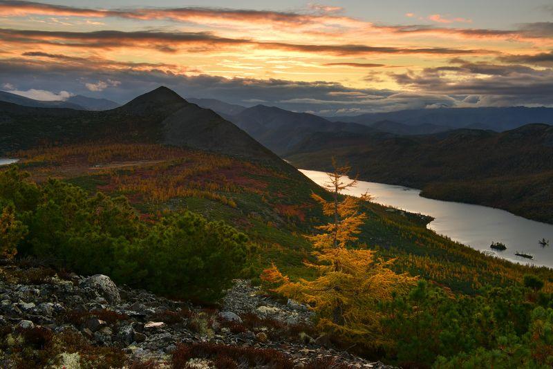 Утро на озере Танцующих Хариусовphoto preview