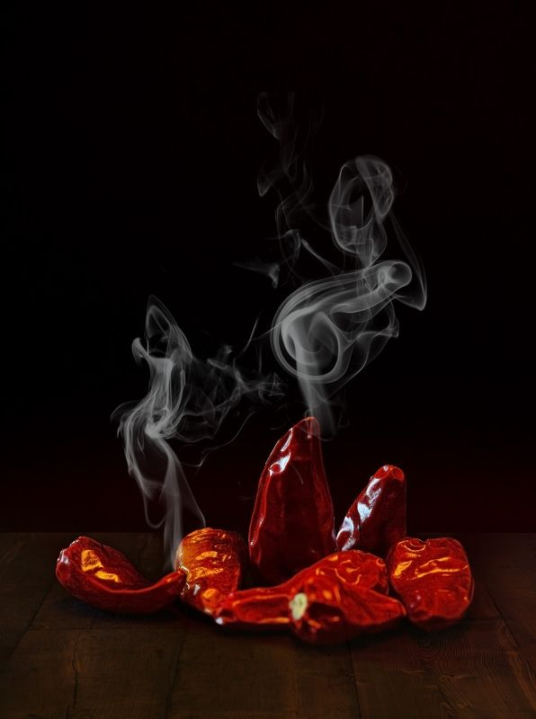 hot, pepper, red, smoke, still life Hotphoto preview