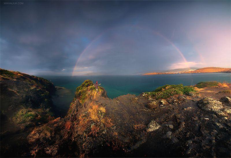 В дождь за радугойphoto preview