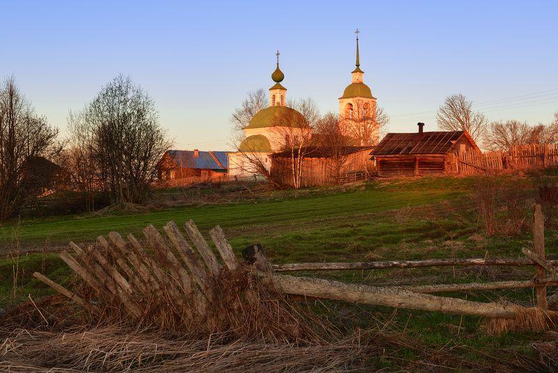 Майское утро где-то в Костромской губернии...photo preview