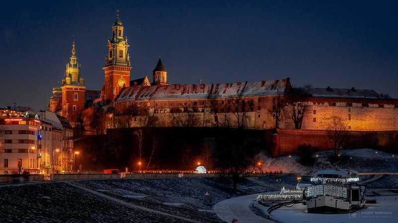 Ночной Краков (Польша)photo preview