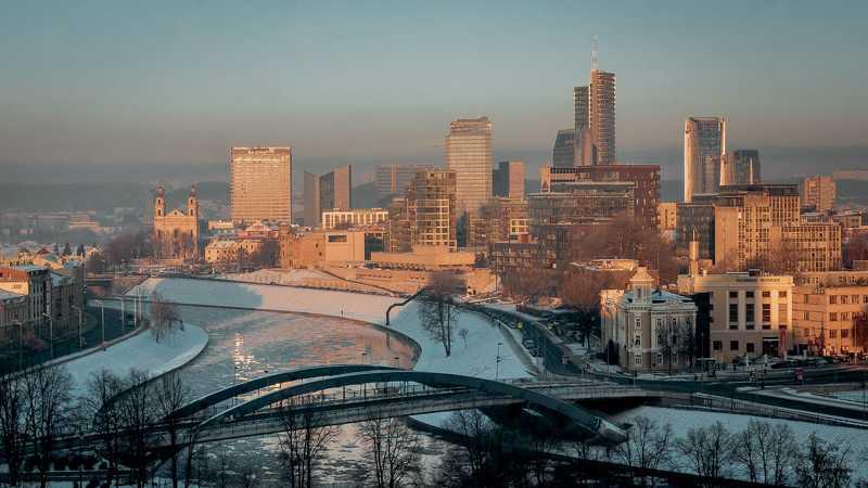 Морозный Вильнюсphoto preview