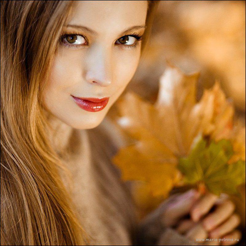 портрет, девушка, осень Алена. Девушка-осеньphoto preview