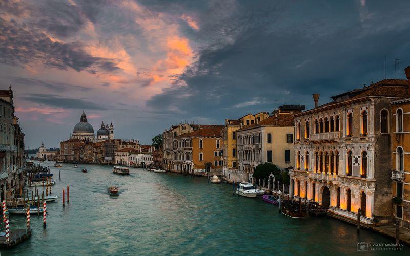 венеция, путешествие, город, закат Венеция в закатных лучахphoto preview