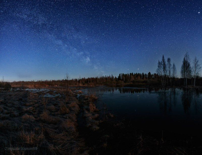 звёзды и тень от штатива...photo preview