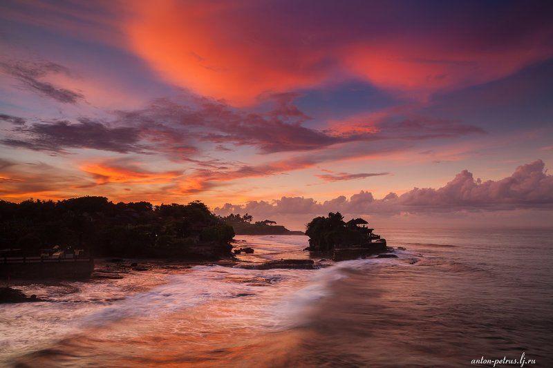 бали, индонезия, закат, море, тропики Магия Балиphoto preview