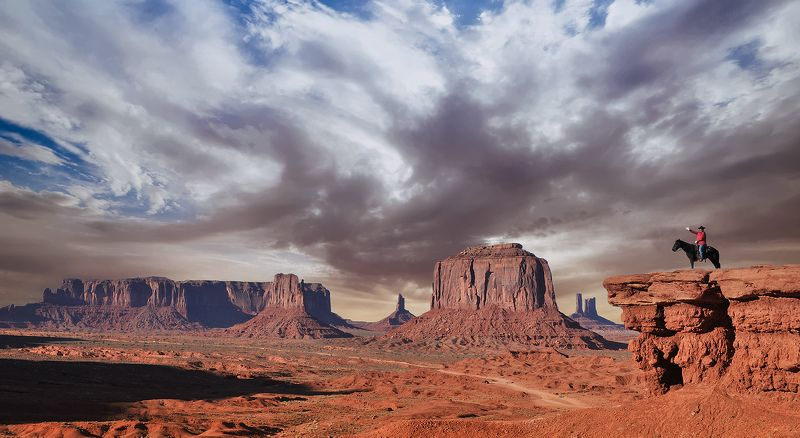 Greetings from Monument Valleyphoto preview