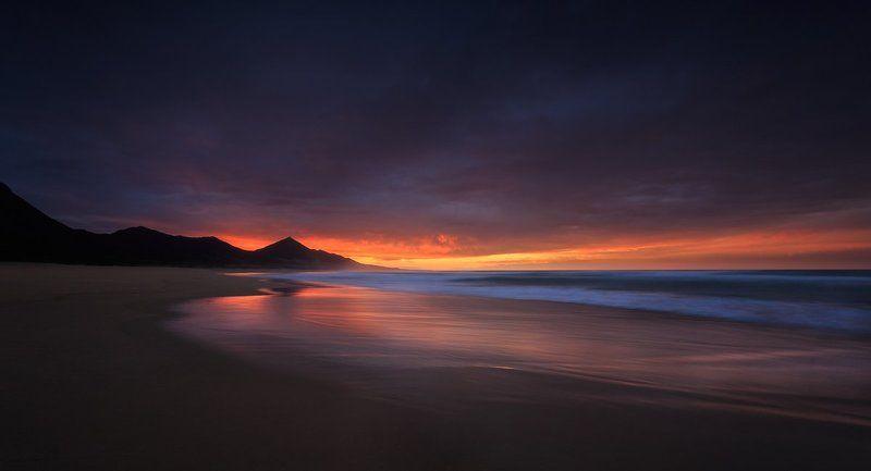 Playa de Cofete, Spain,Fuerteventura, Cofeta, Longexposure, Sunrise, Sunset, Seascapes, Landscapes, Lee, Hitech, Ireland, Galway, Canon Playa de Cofetephoto preview