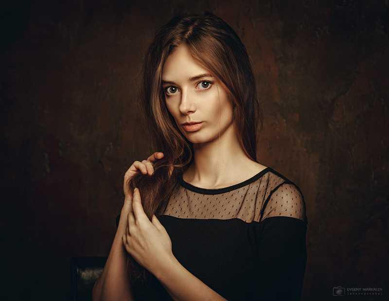 студийный портрет, студия, девушка Марияphoto preview