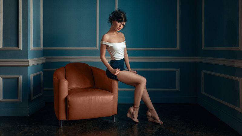 портрет, арт, модель, portrait, art, гламур Алинаphoto preview