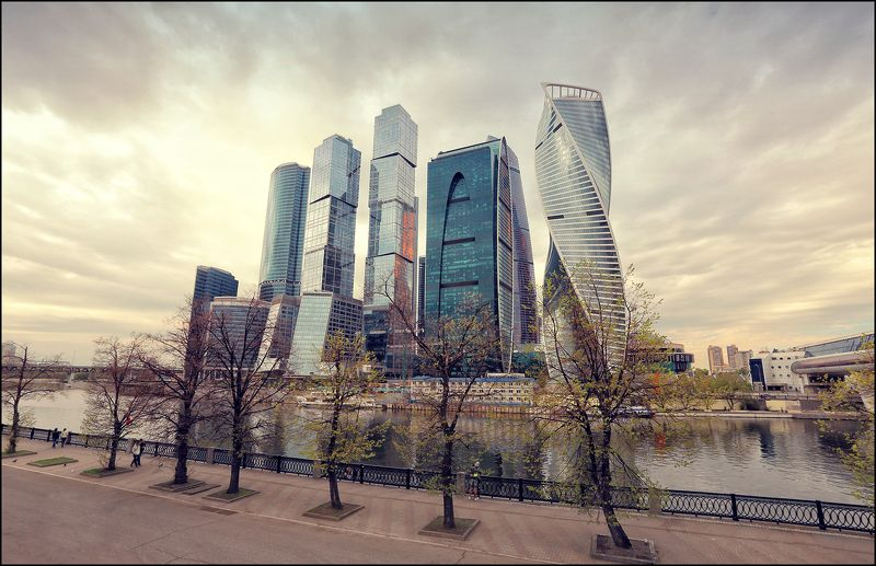 moscow, city, spring, river ---= Москва весенняя =---photo preview