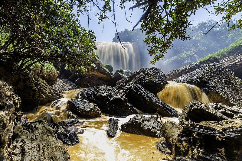 đà lạt lâm đồng Elephant waterfallphoto preview