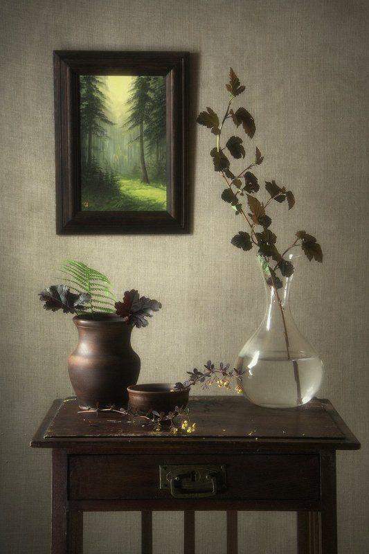 сергей алексеев, натюрморт Пейзаж в натюрмортеphoto preview