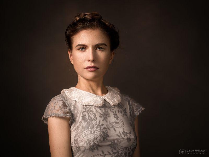студийный портрет, девушка Маринаphoto preview