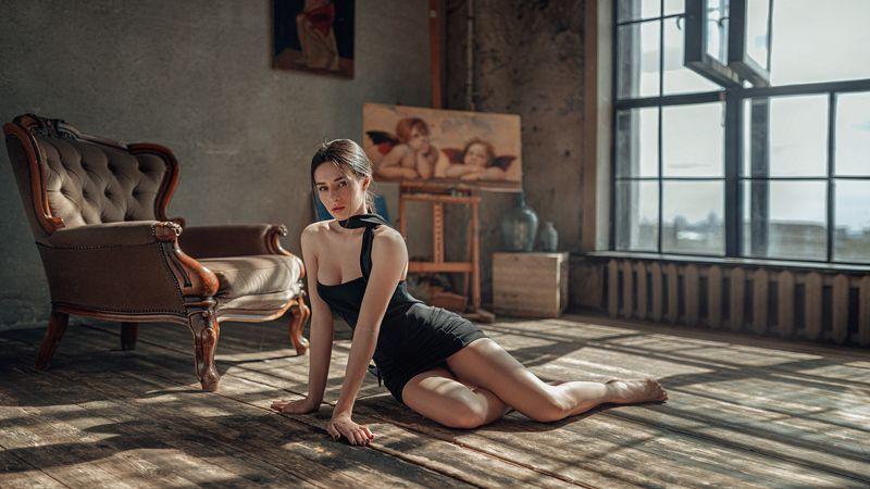 портрет, арт, модель, portrait, art Ксенияphoto preview