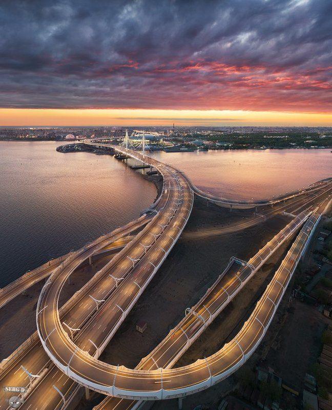 Западный скоростной диаметр, Крестовский островphoto preview