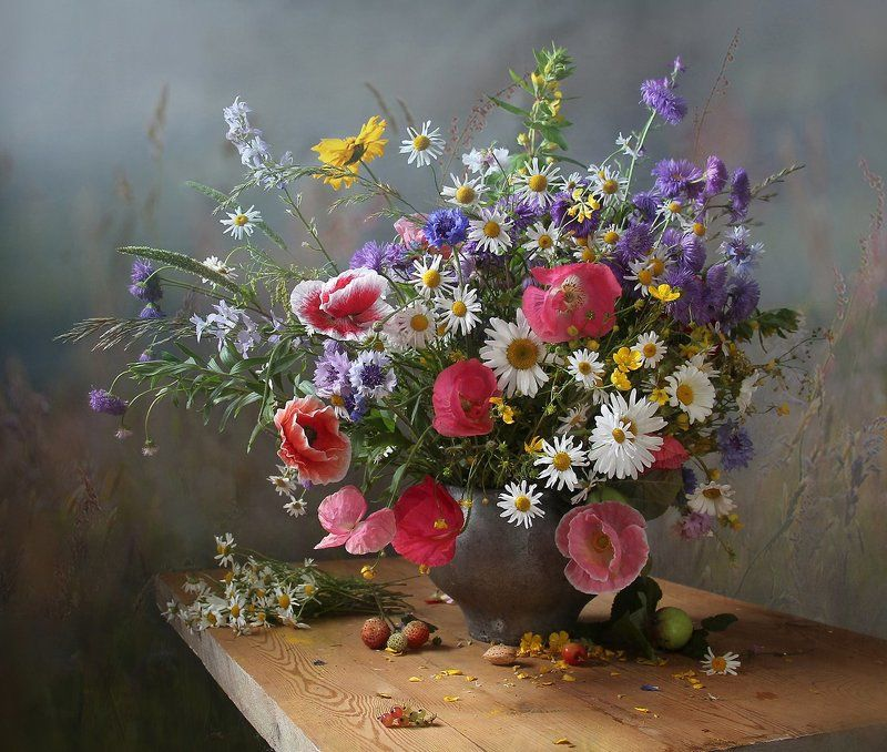 натюрморт, цветы, марина филатова, лето Солнцем озарённыеphoto preview