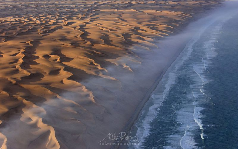 sea, sunset, water, nature, beach, travel,  ocean,  sand, wave, surf, seashore, outdoors,   no person, fair weather, nature, namibia, desert, africa, beauty, adventure, backgrounds, aerial view, arid climate, skeleton coast, namib desert Океаны Берега Скелетовphoto preview