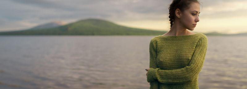 girl, portrait, nature, lake, ural, zuratkul, green, color, nice, mountains, mountain, russia,  Zuratkulphoto preview