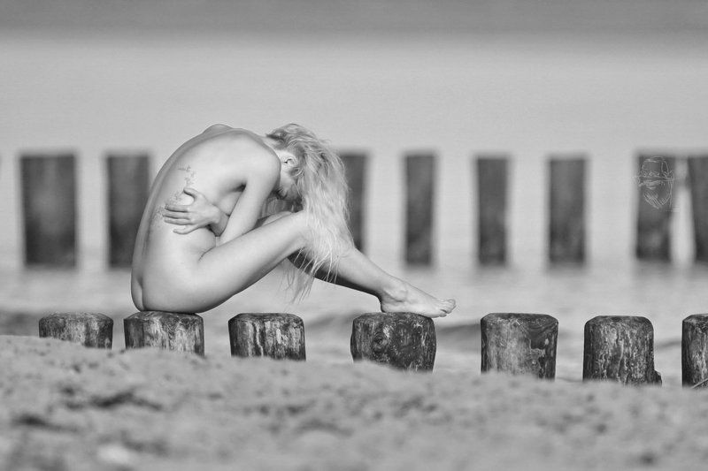 sea, beach, nude, girl, artnude, art, nature umarmtphoto preview