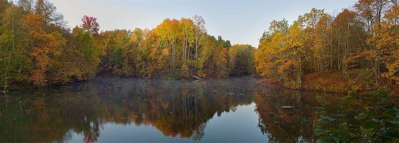 Осенняя акварель...photo preview