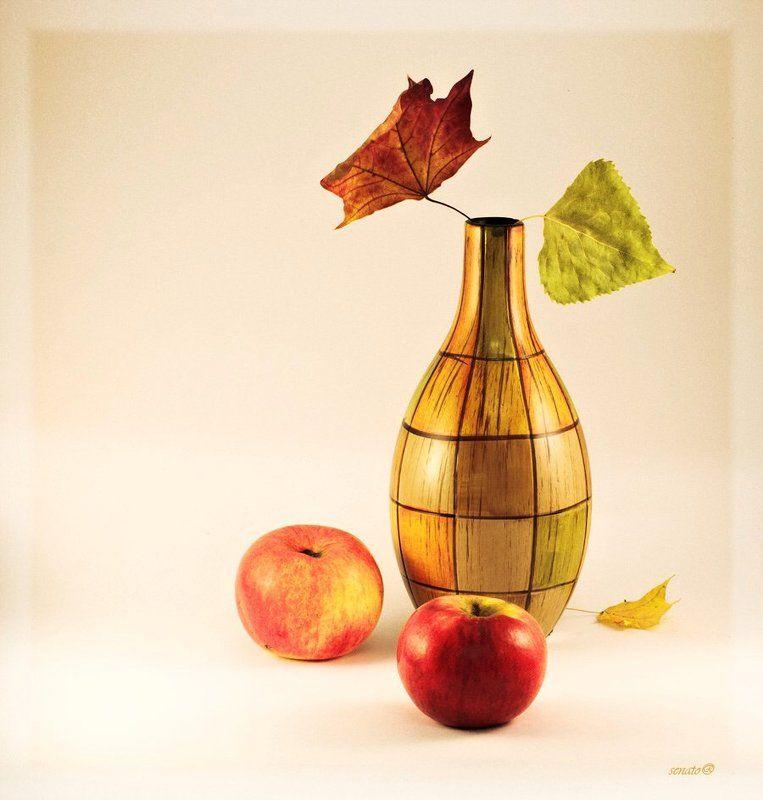 натюрморт,осень Цветная осень - вечер года...photo preview