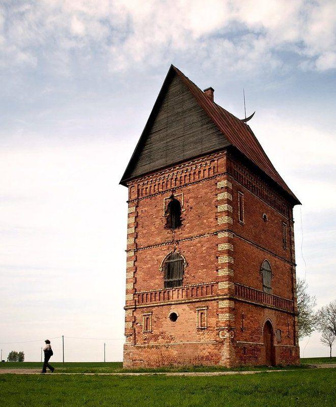 lithuania,labunava,tower, Labunava manorial towerphoto preview