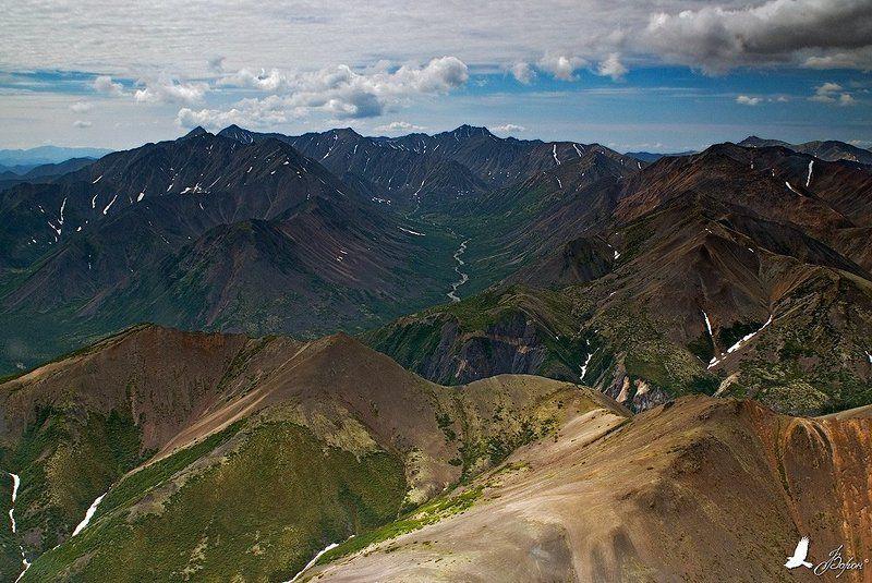 магадан, магаданская область, ягоднинский район, горы Колымские горыphoto preview