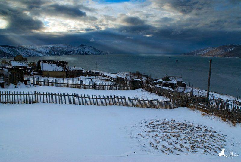 магадан, нагаево, охотское море, зима, снег, \