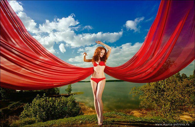 портрет, рыжая Марта. Огоньphoto preview
