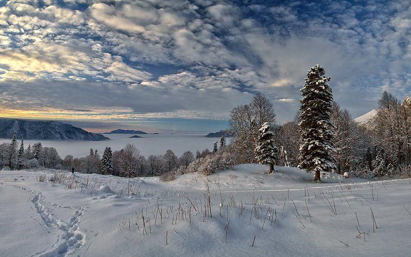 Зима добралась и до Кавказа!photo preview