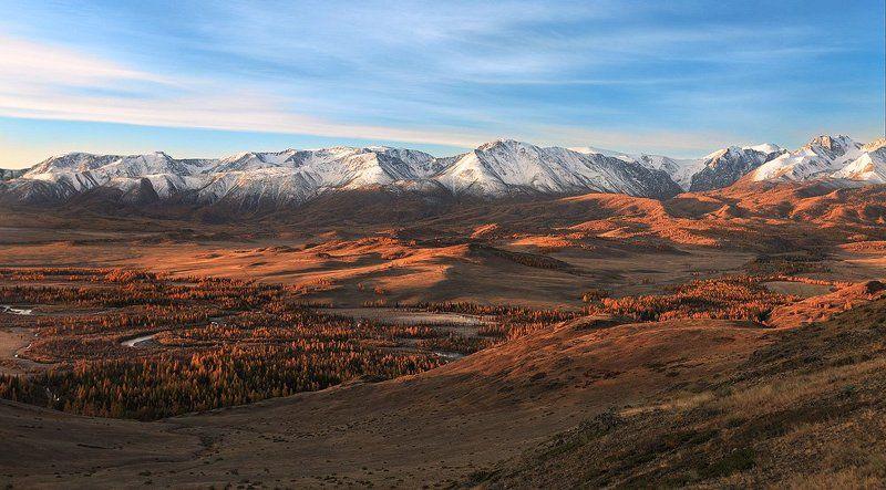 природа, пейзаж, алтай, горы, утро, рассвет Утренний светphoto preview