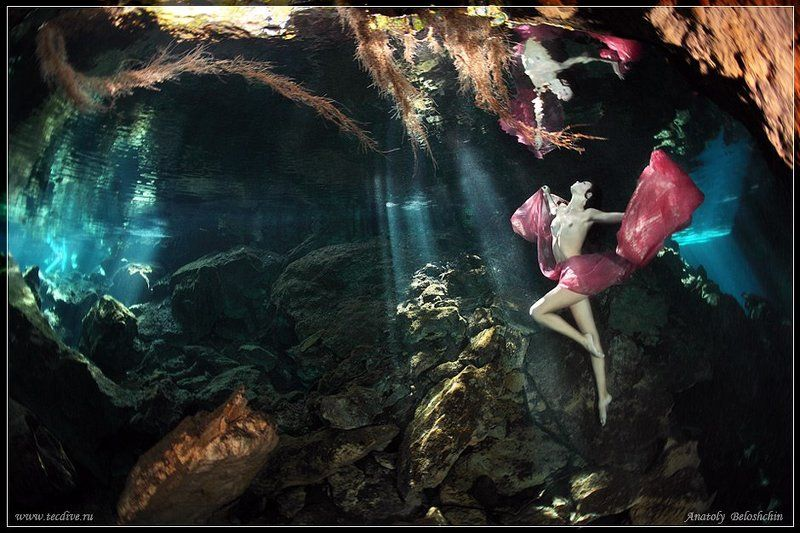 mexico, underwater, photo, cave, chak, mool, anatoly, beloshchin, nude, &, fashion, seacam, canon, 5d, mark, ii Chak Mool (подводное фото)photo preview