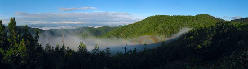 сихотэ-алинь, горы, глория, утро, туман Глорияphoto preview