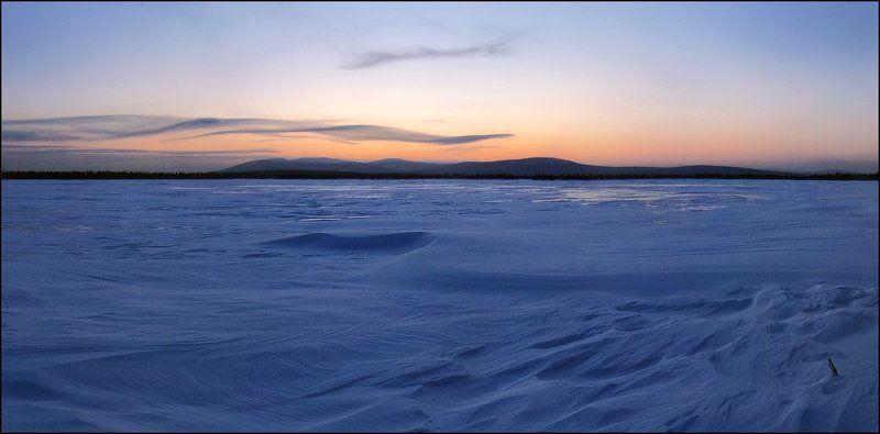 хмао, северный, урал, экипурымтур, ялпингнёр, закат Вечер короткого дняphoto preview