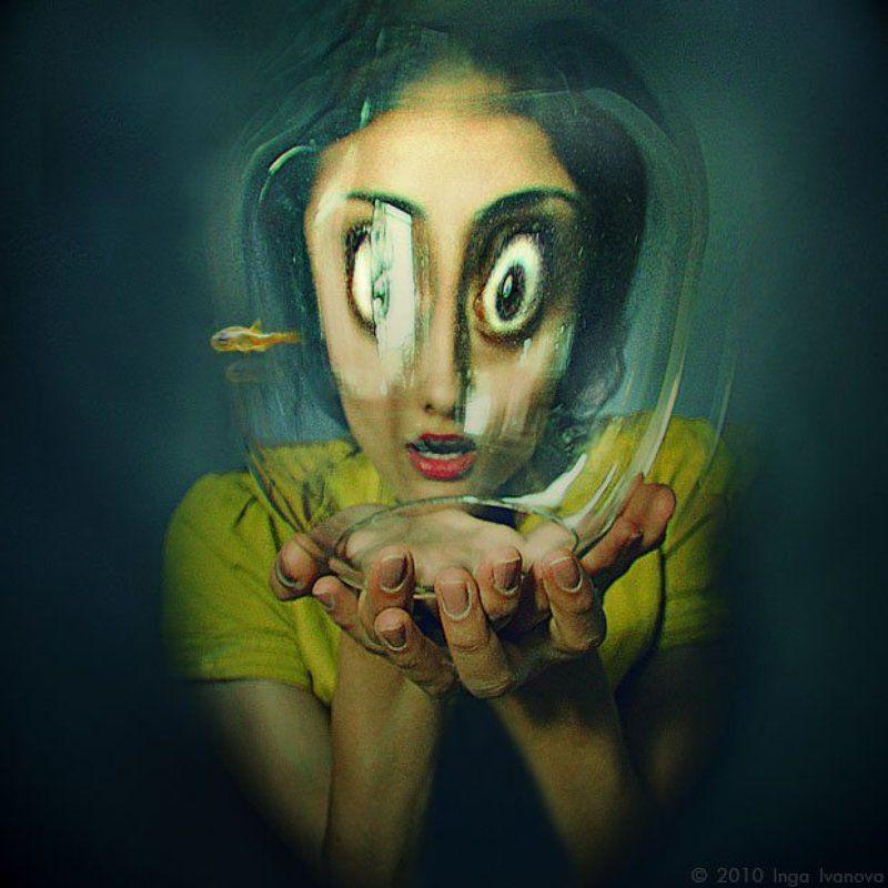 Art, Art photo, Color, Colors, Emotive, Eyes, Face, fish, Nikon photo preview