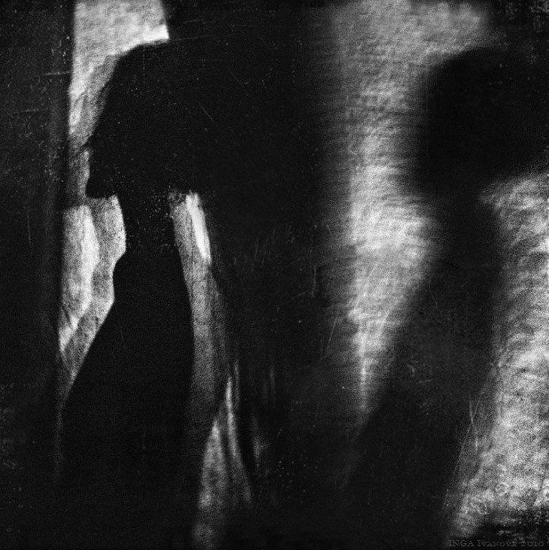 girl,emotive,silhouette Shadowsphoto preview