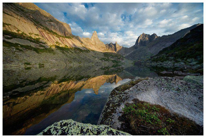 ергаки, зап.саян, пик звёздный, пик птица, озеро горных духов ***photo preview