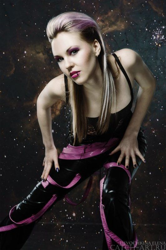 girl, style, fashion, studio, woman, gothic, dark, female Аннаphoto preview
