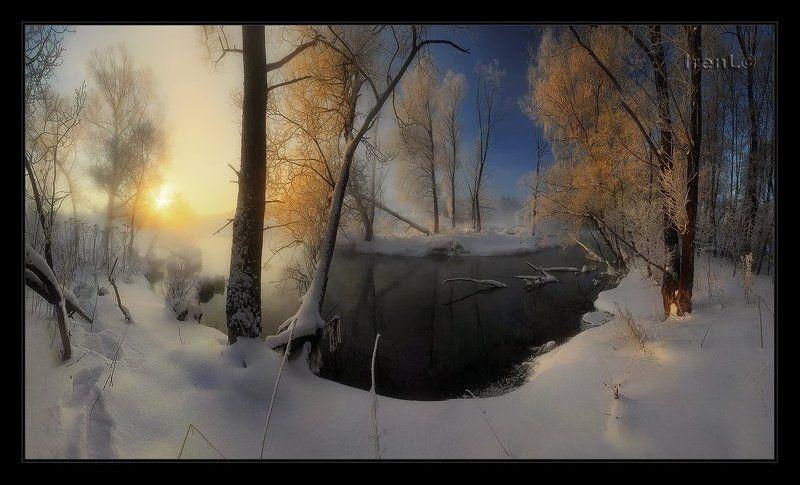 на зимней рекеphoto preview