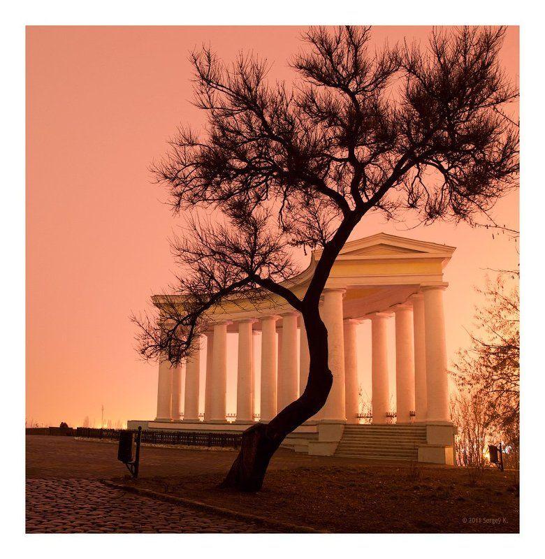 одесса, колоннада, воронцов, дворец Колоннада Воронцовского дворцаphoto preview