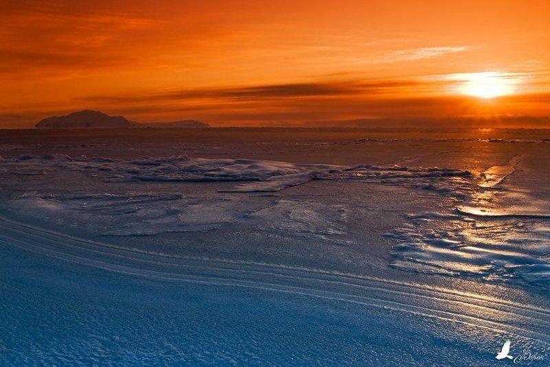 магадан, мыс, ольский, охотское, море, закат Охотоморский закатphoto preview