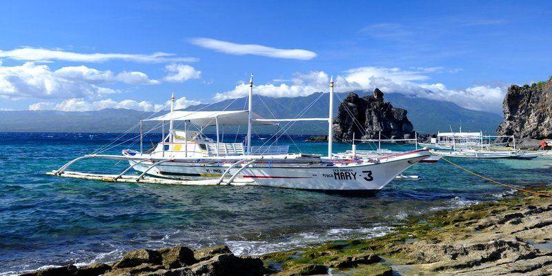 остров, апо, филиппины, рай, корабль, пейзаж, океан, море, гора, негрос, Остров Апо. Филиппины.photo preview