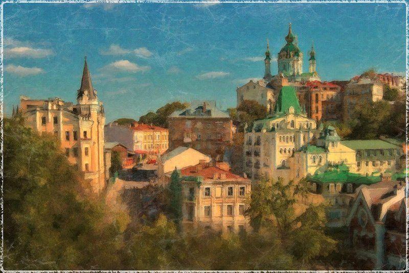 киев Грезы о родном Городеphoto preview