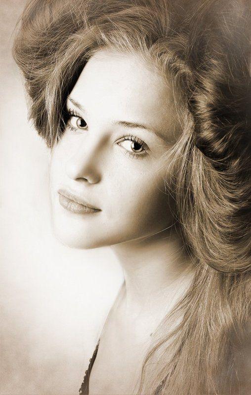 девушка, модель, портрет Каринаphoto preview