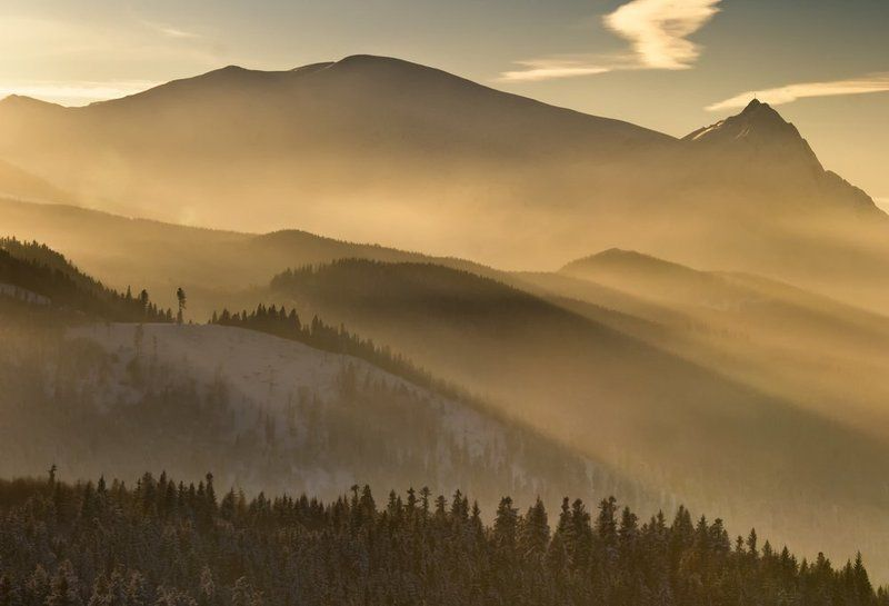 landscape,poland,winter,mountains,forest Tatryphoto preview
