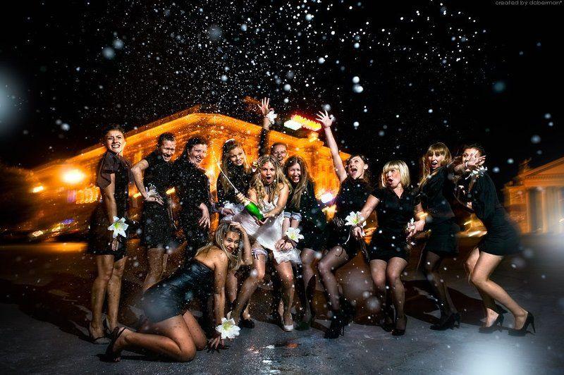 девичник, брызги шампанского, волгоград, невеста, вечеринка Девичникphoto preview