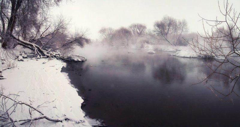 зима, мороз, утро ...У кромки льда...photo preview