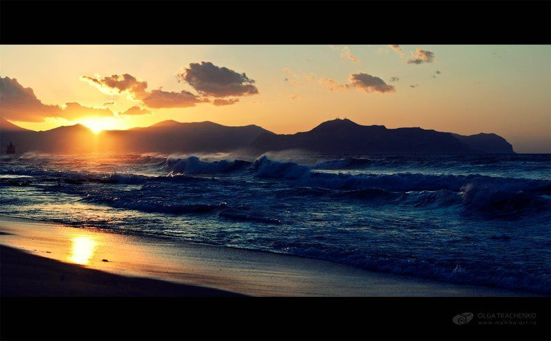 storm, scape, sea, sunset, aspra, sicily, sun, clouds Stormphoto preview