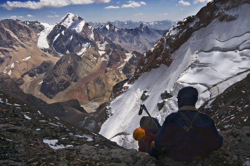 фанские горы, поход, маи Где-то в горах...photo preview